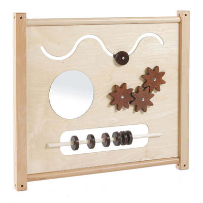 Toddler Activity Panel With Mirror