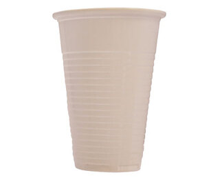 Drinking Cups White 200ml 7oz 100
