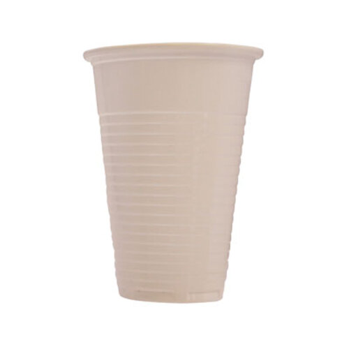 drinking cups white 200ml 7oz 100 gompels healthcare