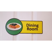 Premium Dining Room Sign