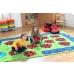 Chloe Caterpillar Numeracy and Literacy Carpet 3x2m