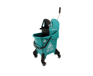 31ltr Mobile Mop Bucket Green