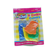 Animal Design Cookie Cutters 6 Piece