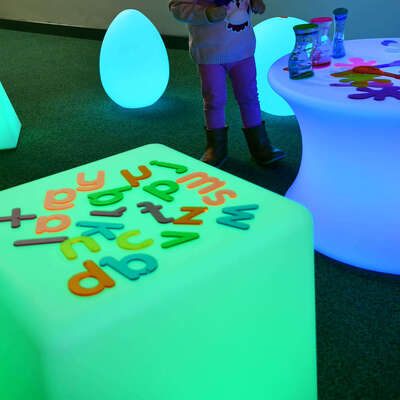 Sensory Mood Light Cube 40cm