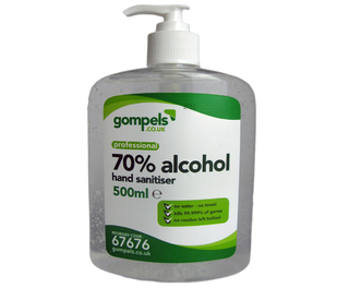 Gompels Alcohol Based Hand Sanitiser 500ml