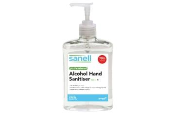 Sanell Alcohol Hand Gel 1000ml Cartridge 3 Pack Gompels Healthcare