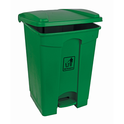 Soclean Pedal Bin 45l - Colour: Green