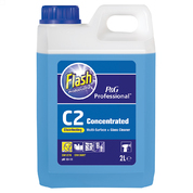 Flash Professional C2 Disinfecting Multisurface and Glass Cleaner 2l