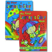 My First Colouring Book Assorted 12 Pack