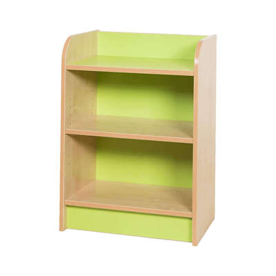 Kubbyclass Slimline Bookcase Beech