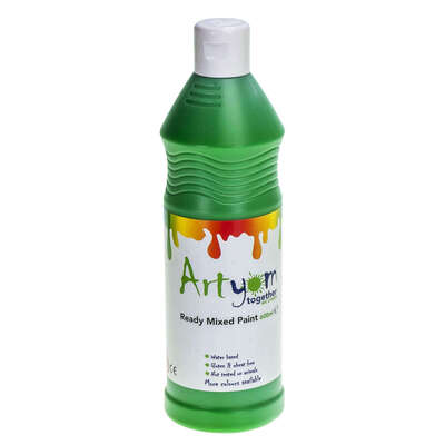 Ready Mixed Poster Paint 600ml - Colour: Green