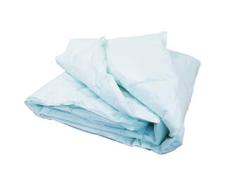 Wipe Down Single Duvet Green