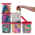 Storage Containers Pack 10 x 5l