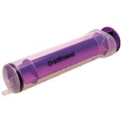 Exactamed Enteral Reusable 60ml Syringe Male Oral Tip x 30