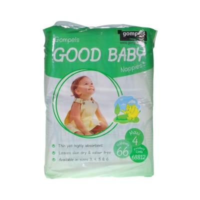 Gompels Baby Nappy Maxi Size 4 7-18kg 66