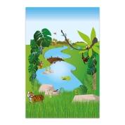 Small World Play Mat Jungle 150cm x 100cm