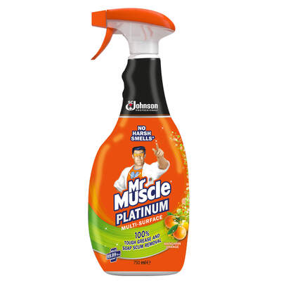 Mr Muscle Multi Surface Cleaner 750ml 6 Pack