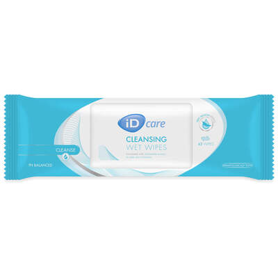 iD Care Cleansing Wet Wipes 63
