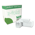 Gompels Pure White Z Fold Hand Towels 2ply 6072 Sheets