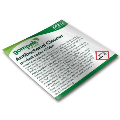 Labels for Antibac Room & Washroom Cleaner 65984 for Spray Bottles x 6