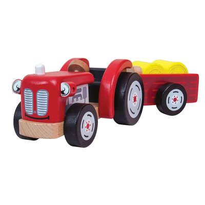 Small World Tractor and Trailer