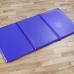 Folding Sleep Mat Blue 1200mm x 600mm