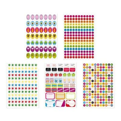 Reward Sticker Sheets x 10