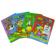 Finish The Picture Colouring Book Assorted 12 Pack
