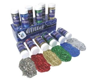 Glitter Assortment 6 x 250g