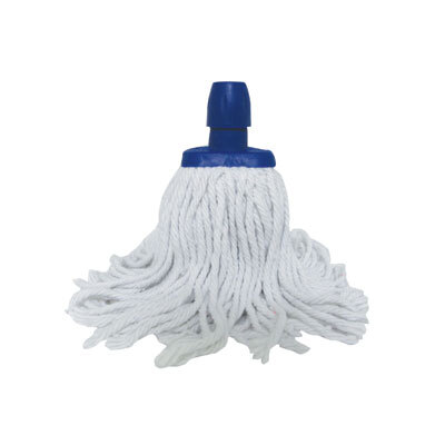 Soclean Cotton Twine Mop Head - Colour: Blue