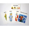 Decades Reminiscence Memory Cards A5 16 Pack