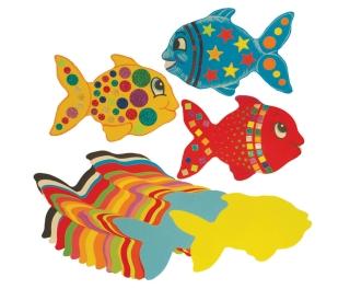 Jumbo Paper Fish 100 Pack