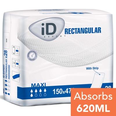 iD Expert Rectangular Pad 47x15 28