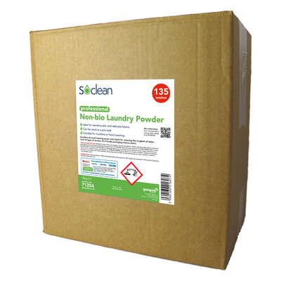 Soclean Non-Bio Laundry Powder 10kg