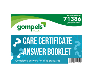 Care Certificate Answer Booklet