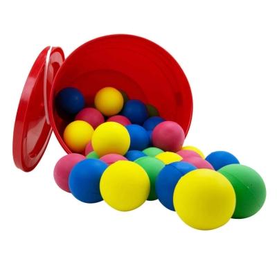 Foam Ball 7cm Assorted 48 Pack