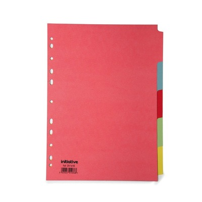 Subject Divider A4 5 Pack