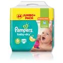 Pampers Baby Dry Jumbo Size 6 Giant 64 Pk