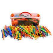 Construction Straws With Connectors 856pcs