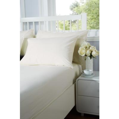 Everyday Pillow Case Pair 50cm x 75cm - Colour: Ivory