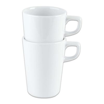 Conical Stacking Mug 12oz White 6 Pack