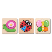 Insect Garden Block Puzzle 3 Pack