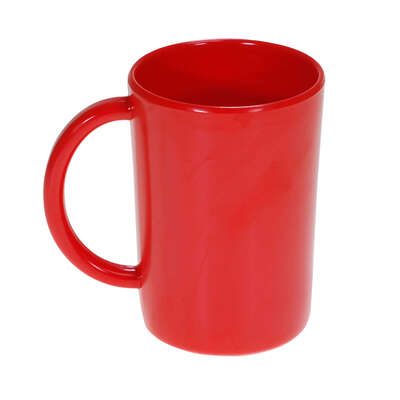 Gompels Super Tuff Handled Mug 10oz 6pk - Colour: Red