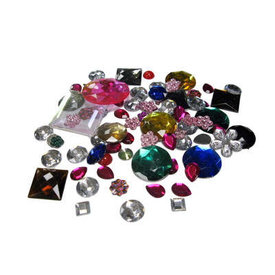 Gompels Acrylic Jewels and Gems 454g