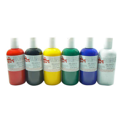 Fabric Paint 150ml x 6 Assorted Colours