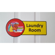 Premium Laundry Room Sign