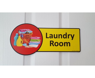 Premium Laundry Room Sign G2p100