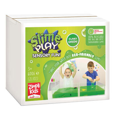 Messy Play Eco Slime Green 600g