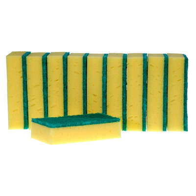 Caterers Sponge Scourer 10 Pack