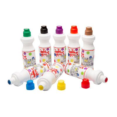 Chunky Paint Markers 75ml x 8 Assorted Colours